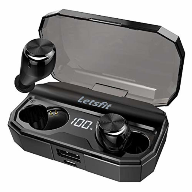 """LetsFit"" True Wireless Bluetooth Earbuds"
